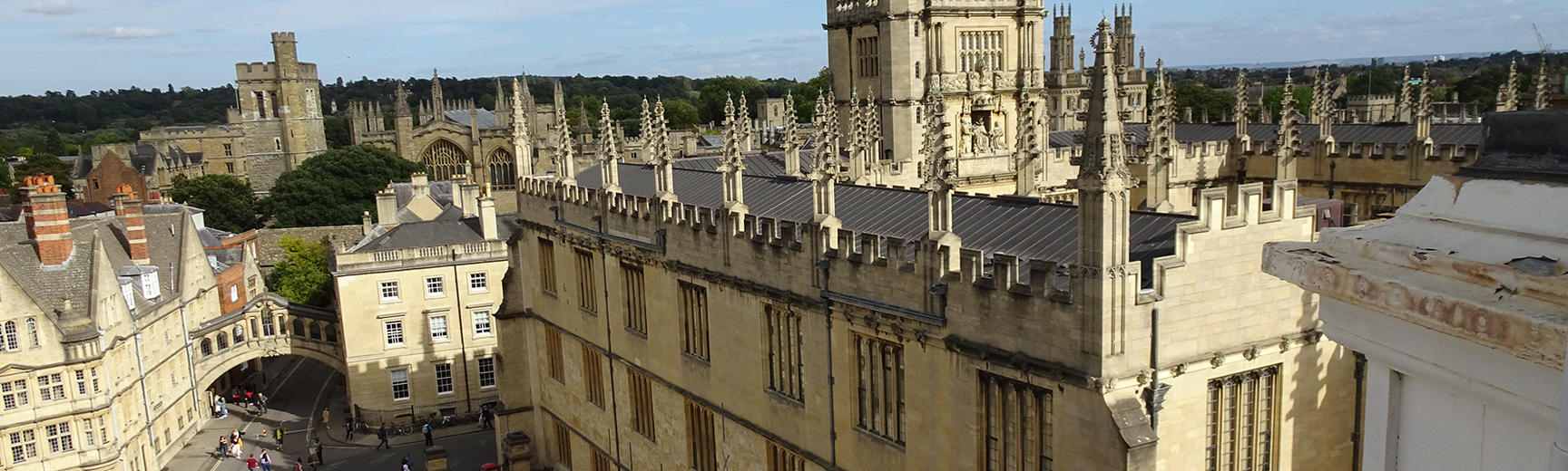Bodleian Library home page banner